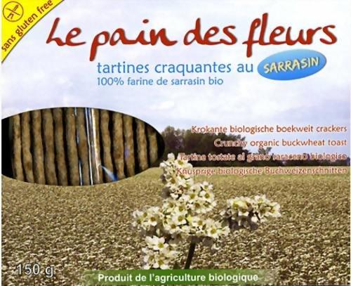 Pain Des Fleurs Boekweit crackers (Fleurs Cracker)