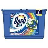 Dash Pods 15 Caps Colore Detersivo Lavatrice in Monodosi