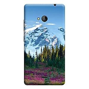 CaseLite Premium Printed Mobile Back Case Cover With Full protection For Microsoft Lumia 535 (Designer Case)