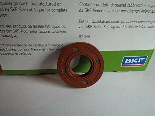 Viton Oil Seals (17x 35x 7mm Doppel Lip Oil Seal SKF Viton R23/TC Viton Gummi Edelstahl Strumpfband Spring)