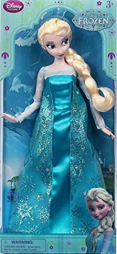 Elsa / Frozen - Die Eiskönigin Elsa, Puppe - original Disney
