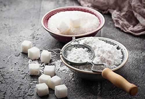 Xylitol Puderzucker - Xylit Puder Zuckerersatz 100% rein Zucker Süßstoff VERSCHIEDENE GRÖßEN