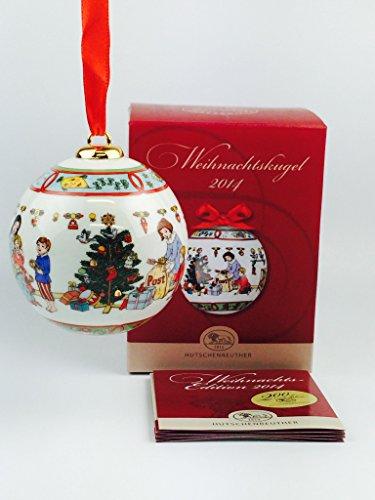 Hutschenreuther Porzellan Weihnachtskugel 2014 in der Originalverpackung NEU 1.Wahl
