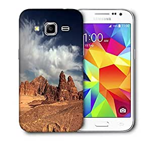 Snoogg Desert Mountain Printed Protective Phone Back Case Cover For Samsung Galaxy Core Plus G3500