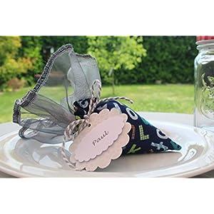 Minischultüte zur Einschulung/Tischdeko