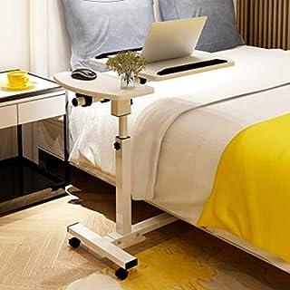 Heben Mobiler Computer Schreibtisch Nachttisch Schlafsofa Notebook Desktop Stehtisch Lerntisch Klappbarer Laptoptisch Verstellbarer Tisch-in-Laptoptisch von Furniture, Beige, JVCZ