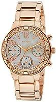 Guess W0546L3 - Reloj de pulsera para mujer, color blanco / plata de Guess