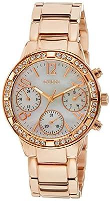 Guess W0546L3 - Reloj de pulsera para mujer, color blanco / plata