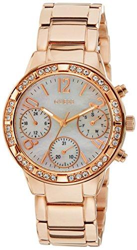 Guess W0546L3 – Reloj de pulsera para mujer, color blanco / plata