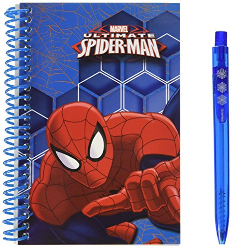 Marvel Ultimate Spiderman Block notes avec stylo