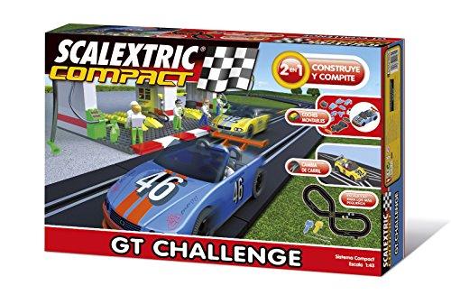 Scalextric Compact - Circuito GT Challenge Compacto: escala reducida 1