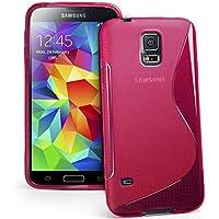 39c8096f319 Samsung Galaxy S5 Mini Custodia HCN Phone® S-Line TPU Gel silicone cover  morbida