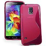 Samsung Galaxy S5Mini Custodia HCN Phone® S-Line TPU Gel silicone cover morbida per Samsung Galaxy S5Mini