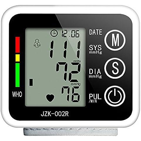 Tensiómetro Muñeca Toprime- 002 Sin Voz Almacenados Datos Monitor Muñeco de Presion Arterial Carga Automática Regalar una Caja de Plástico