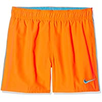 Nike Baño 4 Volley Pantalones Cortos, Unisex Niños, Naranja (Hyper Cr), L