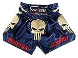 Image de Boxsense Muay Thai Kick Boxeo Tailandes Pantalones BXS-302-Navy