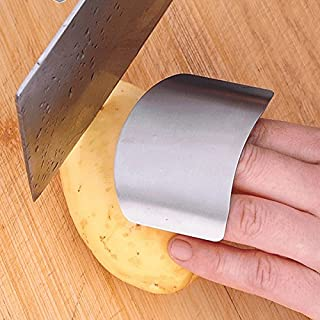 Aliciashouse Stainless Steel Finger Guard Safe Protector Chop Helper