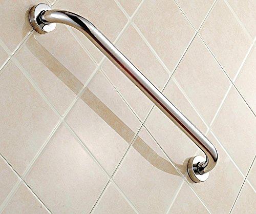 SAEJJ-Christmas giftHochwertige einfache Badezimmer Handläufe, Super Gewicht wird nie rosten, 304 Edelstahl Bad alte Badewanne-Handlauf , 60cm
