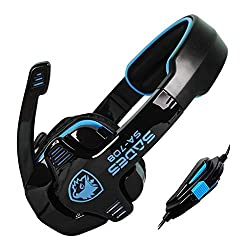 SA 708 Xpower 5.1 Channle Stereo Gaming headsets with Foldable Mic
