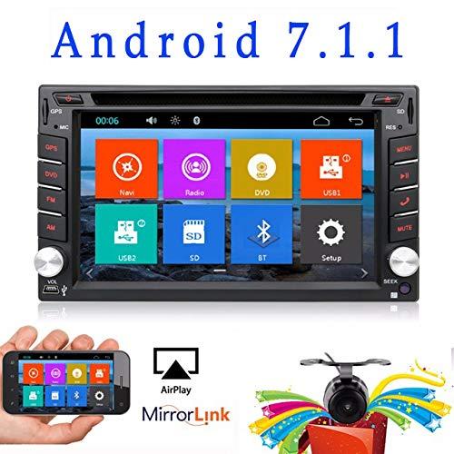 Reproductor de DVD para el coche Versión WIFI actualizada modelo Android 6.0QURE...