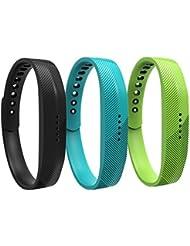 WEINISITE Rechange Bracelet Accessoire pour Fitbit Flex 2