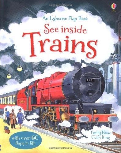 See Inside Trains (Usborne See Inside) by Emily Bone (2013-05-01)