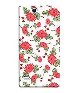 PrintVisa Designer Back Case Cover for Sony Xperia C4 Dual :: Sony Xperia C4 Dual E5333 E5343 E5363 (Illustration Decorative Ornamental Ornament Repetition Wallpaper Beautiful Abstract)