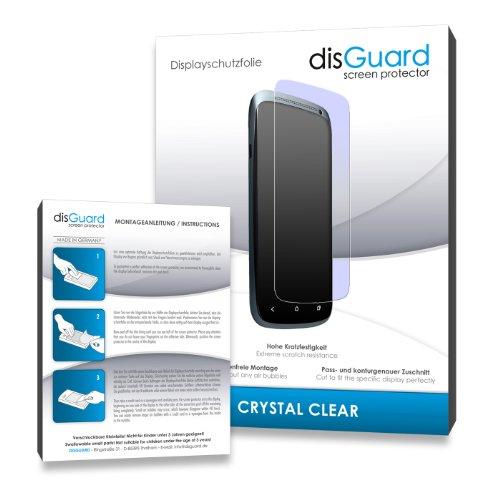 disGuard® Bildschirmschutzfolie [Crystal Clear] kompatibel mit Gionee Elife E8 [4 Stück] Kristallklar, Transparent, Unsichtbar, Extrem Kratzfest, Anti-Fingerabdruck - Panzerglas Folie, Schutzfolie