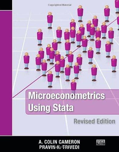 Microeconometrics Using Stata, Revised Edition by Cameron, A. Colin, Trivedi, Pravin K. (2010) Paperback