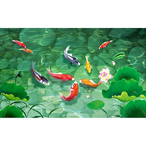 DIY 5D Diamond Painting by Number Kit for Adult,Full Drill Diamond Painting Koi Fish,Embroidery Cross Stitch Arts Craft Home Wall Decoration,11.8×15.7in (Koi Stitch Fish Cross)