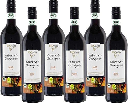 BIOrebe Cabernet Sauvignon  IGP Frankreich  (6 x 0.75 l)