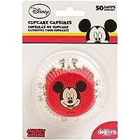 Topolino 339004Pack di 50pirottini Cupcake carta rosso 5X 5X 3cm