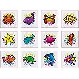 Sealife Tattoos - 12 pack