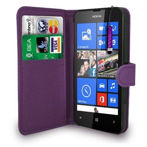 baba-essentials-4u-r-nuevo-nokia-lumia-525-dark-purple-cartera-funda-y-lapiz-capacitivo