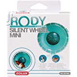 Roue silencieuse pour cage RodyLounge Mini bleu lagon SILENT WHEEL MINI diamètre 11 cm environ pour hamsters nains et souris/ZOLUX