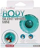 Zolux Minirrueda silenciosa para jaula RodyLounge, color azul, diámetro 11cm aproximadamente, para hámsters enanos y ratones
