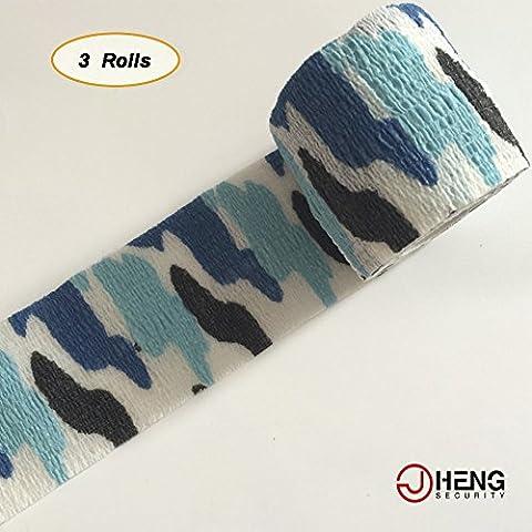 JCHENG di protezione, motivo mimetico, con nastro adesivo multiuso Tactical Camo Form 5,08 cm (2