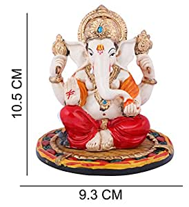 Affaires Ganeshji, Ganesh, Ganpati Murti Idol Statue Sculpture for car /office Decor, Ideal Gift to Your Loved Ones G-431