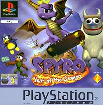 Spyro 3: Year of the Dragon (PS1 Platinum) from Sony Computer Entertainment UK