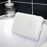 Cuscino per vasca da bagno, in schiuma PVC, 20 x 29 cm