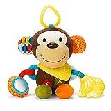 Skip Hop Bandana Buddies Aktivitätsspielzeug, Plüschtier für Babys und Kinder, mehrfarbig, Hund