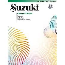 Suzuki Cello School, Vol 1: Cello Part, Book & CD [With CD]