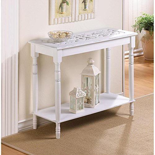 1 Ea Pack (Home Locomotion - Carved-top Table (pack of 1 EA) by Home Locomotion)