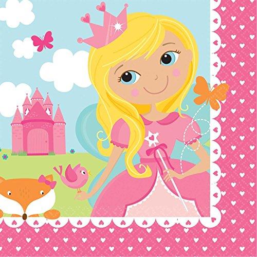 Amscan 54162325cm Woodland Prinzessin Getränke Servietten
