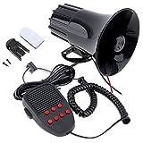 Semoic 100W 12V 7 Suoni Car Truck Speaker Allarme Allarme Police Fire Siren Horn Loud Sound 105db con Microfono Microfono