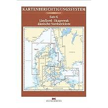 Sportbootkarten-Berichtigung Satz 6 (2017): Limfjord - Skagerrak - Dänische Nordseeküste