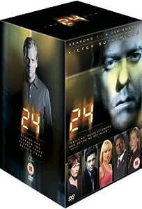 24 Heures chrono : L'Intégrale Saisons 1, 2, 3 & 4 - Coffret 27 DVD - Import Zone 2 UK (anglais uniquement) [Import anglais]