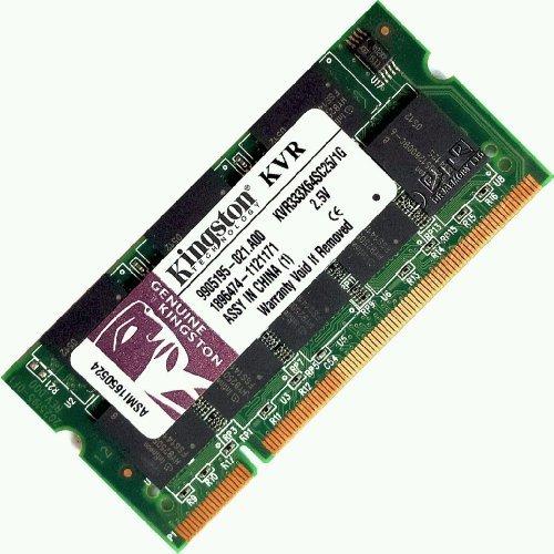 1 GB (1 x 1 GB) DDR-333 PC2700 Notebook (SODIMM) RAM KIT 200 pin