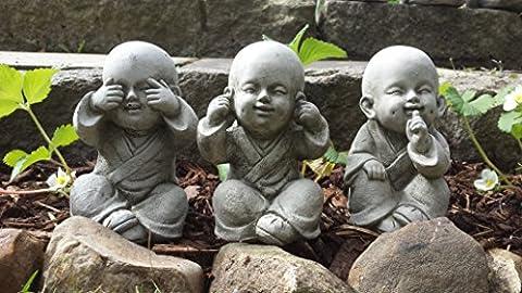 BUDDHA SPEAK, SEE, HEAR NO EVIL - SET OF 3