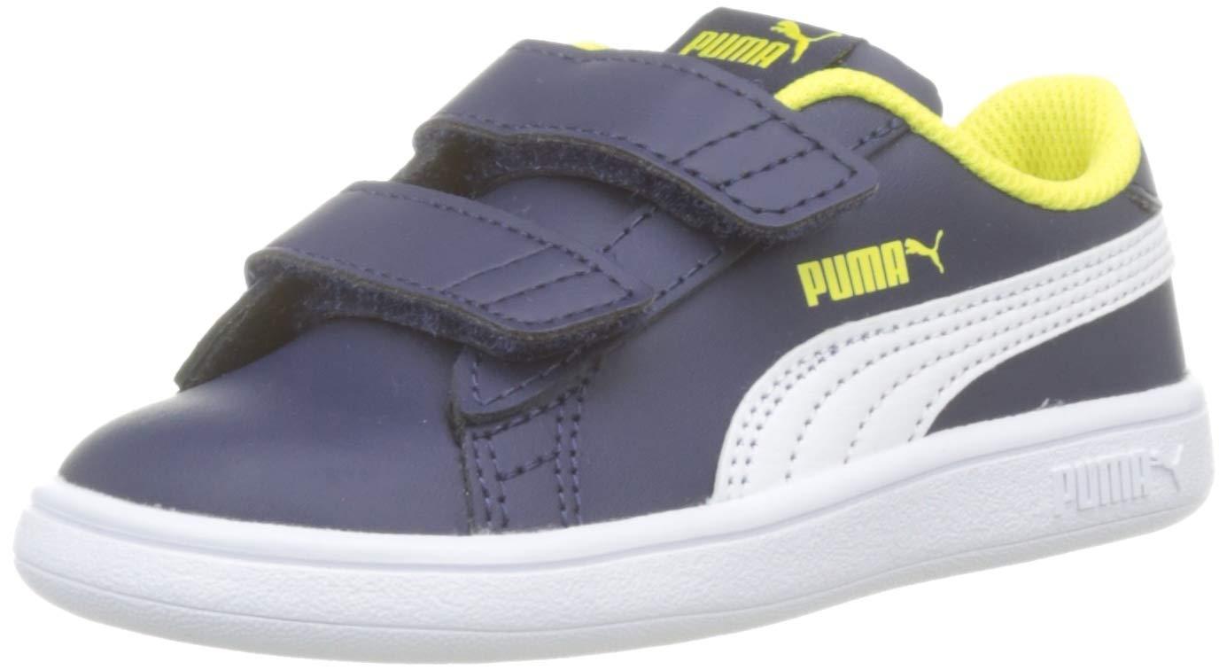 PUMA Smash V2 L V Inf, Sneaker Unisex Bambini FACESHOPPING